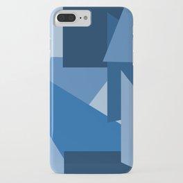 Blu-Geometric iPhone Case