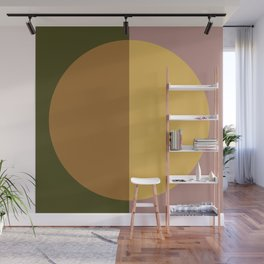 Color Block Abstract IX Wall Mural
