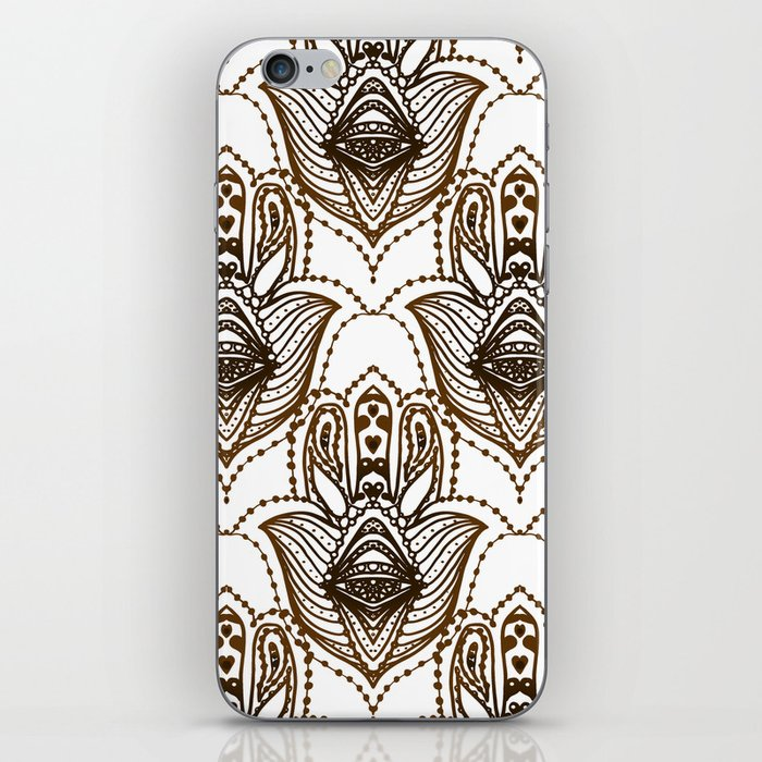 Hamsa Hand Symbol Of Protection Iphone Skin By Ekaterinac Society6
