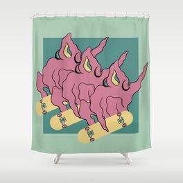 Roller Kween Shower Curtain