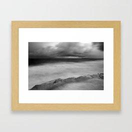 Rough Seas Framed Art Print