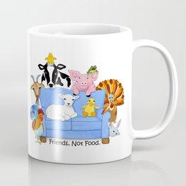 Friends, Not Food. Coffee Mug