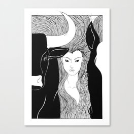 Tauromaquia Canvas Print