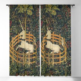 The Unicorn in Captivity (from the Unicorn Tapestries) 1495–1505 Blackout Curtain
