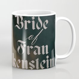 The Bride of Frankenstein, vintage movie poster, Boris Karloff cult horror Coffee Mug