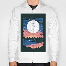 Starry Pixel Night Hoody
