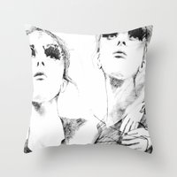 halo Throw Pillows featuring Halo. by Pie & Tau.