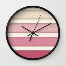 Berry Cake Pattern Wall Clock