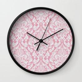 Damask Pattern VII Wall Clock