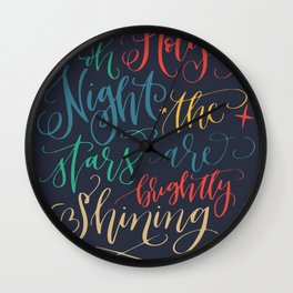 Holy holiday wishes Wall Clock