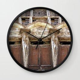 Worn Down Wall Clock