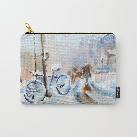 Lost bike Carry-All Pouch