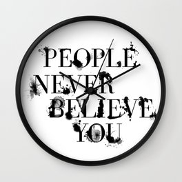 The Catcher in the Rye Wall Clock