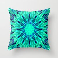 teal Throw Pillows featuring Teal. by 2sweet4words Designs