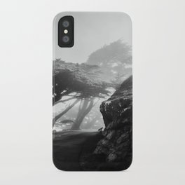 These Cool Trees at Point Reyes iPhone Case
