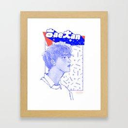 NCT Dream — Haechan Framed Art Print