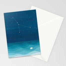 Cancer zodiac constellation Stationery Cards