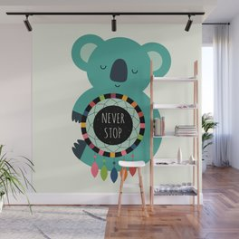 Never Stop Dreaming Wall Mural