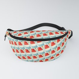 USA 4th of July Popsicle Pattern Fanny Pack