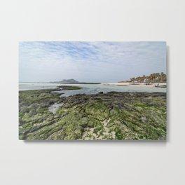 금능해수장 Geumneung Eutteumwon Beach Metal Print