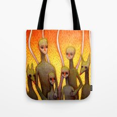 Fire Family Tote Bag