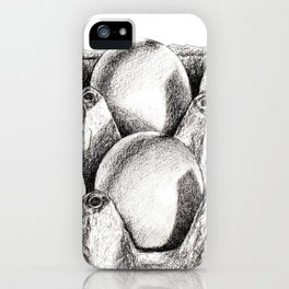 Egg in Carton iPhone Case