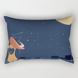 artista viaggiatore Rectangular Pillow