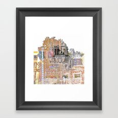 a place on earth Framed Art Print