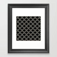 Trellis Patter II Framed Art Print
