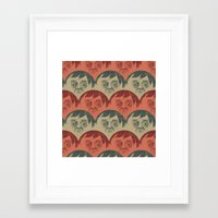 it crowd Framed Art Prints featuring CROWD by Renato Klieger Gennari