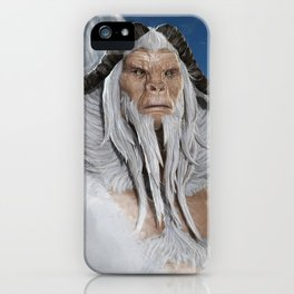 The Great White Ape iPhone Case