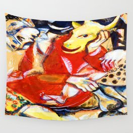 Marc Chagall To My Betrothed Wall Tapestry