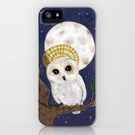 Holy Saint Little Owl iPhone Case