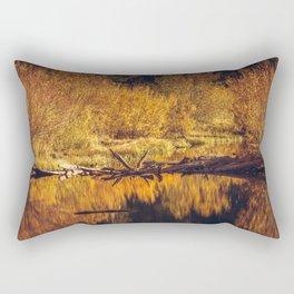 Autumn in the Eastern Sierras Rectangular Pillow