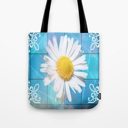 Large Daisey Tote Bag
