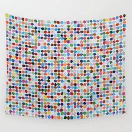 Colossal Polka Daubs Wall Tapestry