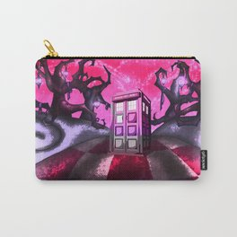 tardis and wonderland Carry-All Pouch