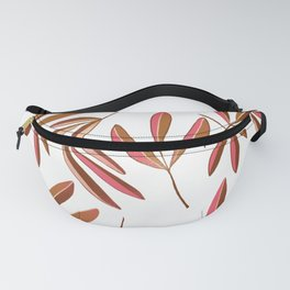 Pink Ash Repeated Fanny Pack