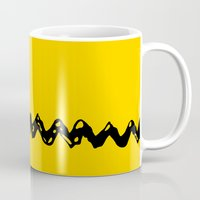 charlie brown Mugs featuring Good Grief Charlie Brown! by craigomatic