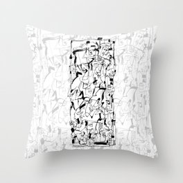 Sweet Confusion Throw Pillow