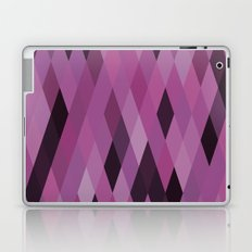 Muted Berry Color Harlequin Pattern Laptop & iPad Skin
