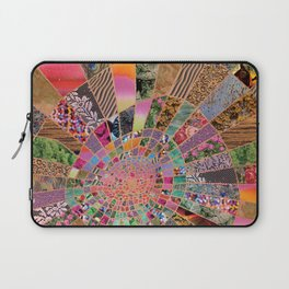 Shitty pink colored Clown Spiderweb Laptop Sleeve