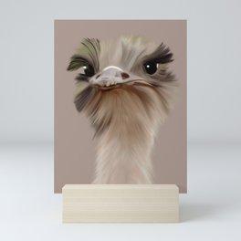 Ostrich Mini Art Print