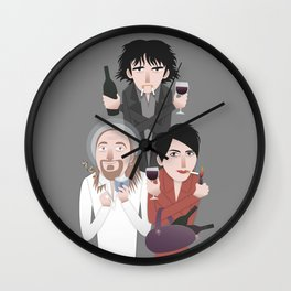 Black Books Wall Clock
