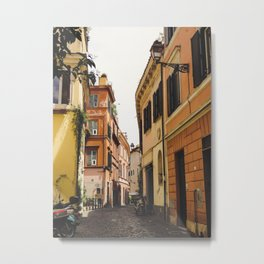 Streets of Italy Metal Print