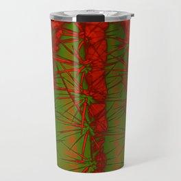 Cacti Abstract II Travel Mug
