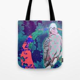 Cosmic Cockatoo Tote Bag