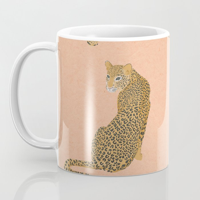 sunset leopards Coffee Mug