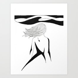 Sea Child Art Print