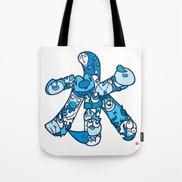 水 - WATER Tote Bag
